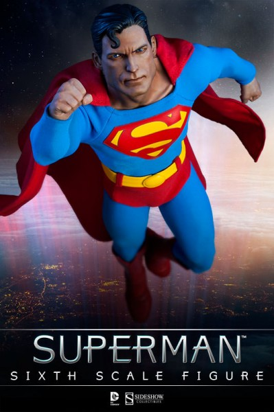 Look, up in the sky! Superman joins the Sideshow Sixth Scale collection