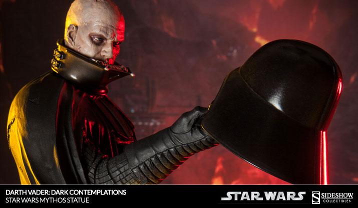 Darth Vader Dark Contemplations Star Wars Mythos Statue