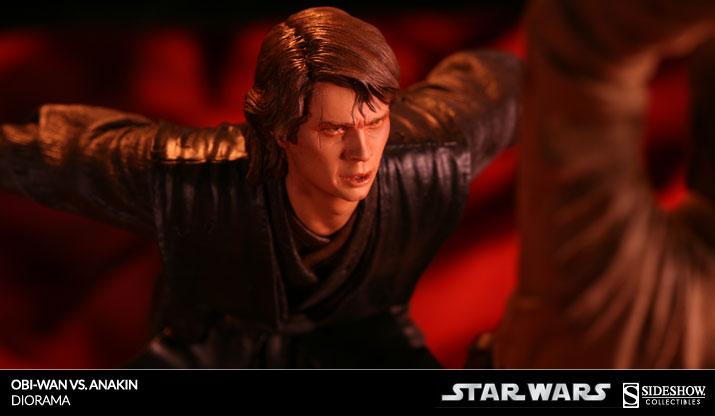 Obi-Wan VS Anakin Diorama