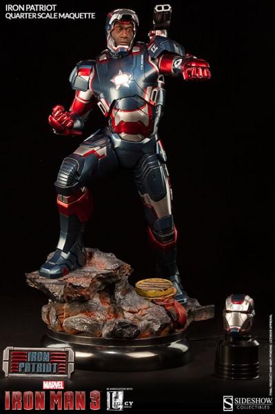 Iron Patriot Quarter Scale Maquette
