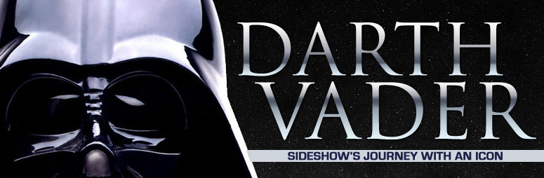 Darth Vader Sideshow's journey with an icon