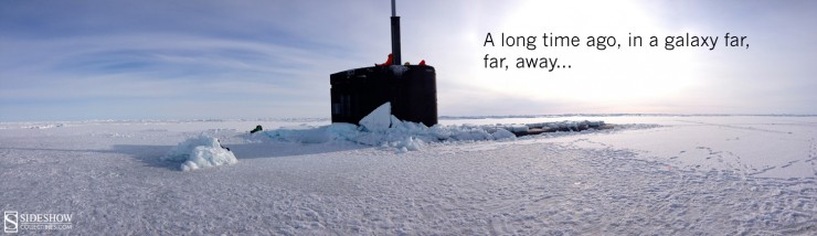 Forget Hoth, Darth Vader storms the Arctic on a U.S. Navy submarine