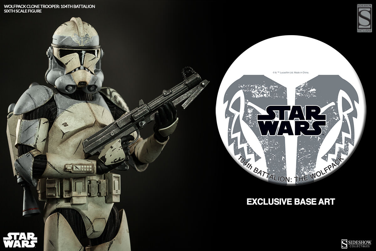 Exclusive Wolfpack Clone Trooper: 104th Battalion Sixth Scale Figure