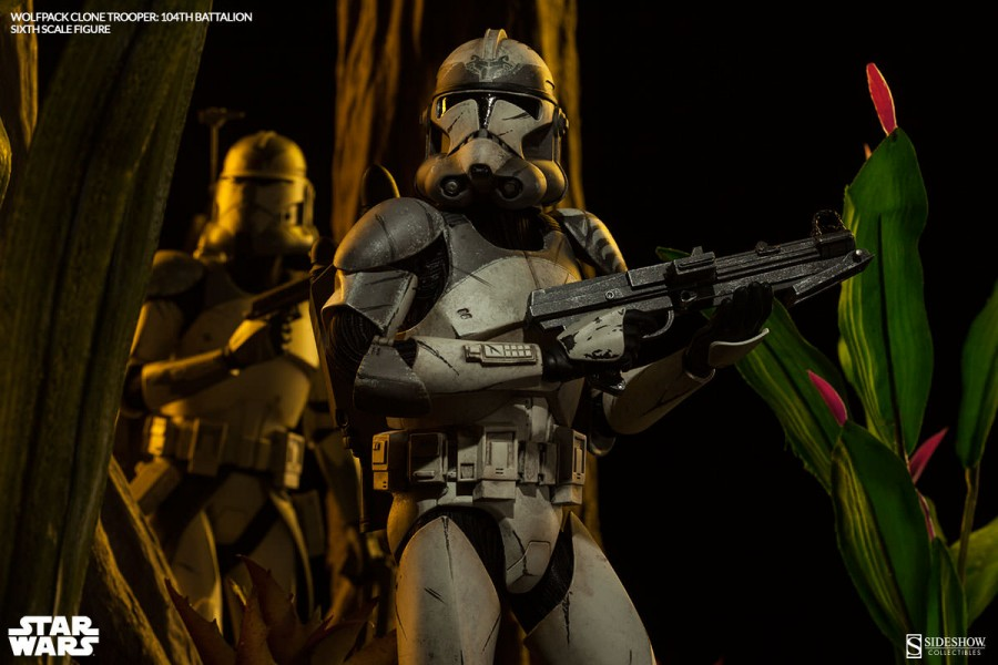 Wolfpack Clone Trooper: 104th Battalion Sixth Scale Figure