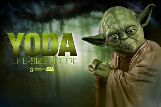 Jedi Master? Yoda, you seek a life-size Yoda…