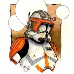 Clone Trooper art by Jaime S.
