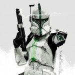 Clone Trooper art by Jose F.