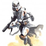 Clone Trooper art by Pablo AC