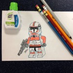 Clone Trooper art by Derek C.