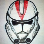 Clone Trooper art by Thomas L.