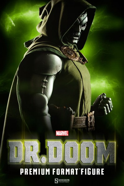 Doom is coming! Presenting Sideshow's new Dr. Doom Premium Format Figure