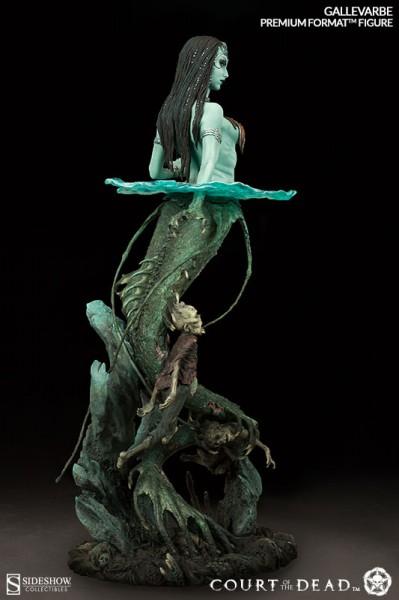 Gallevarbe Death's Siren Statue Court of the Dead