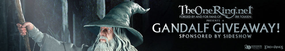 The One Ring Gandalf Giveaway
