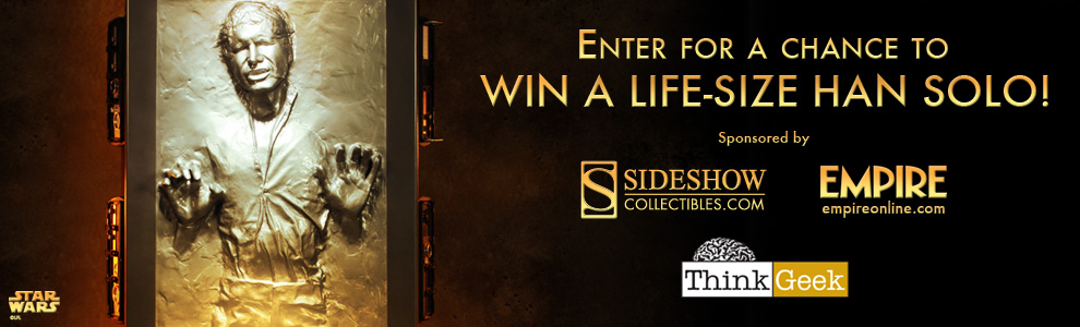 Han Solo in Carbonite Life-Size Figure Giveaway