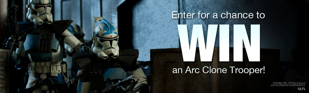 Arc Clone Troopers Giveaway!