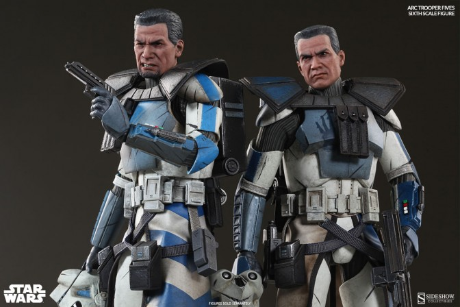 Echo, Fives, you're both officially being made ARC Troopers!