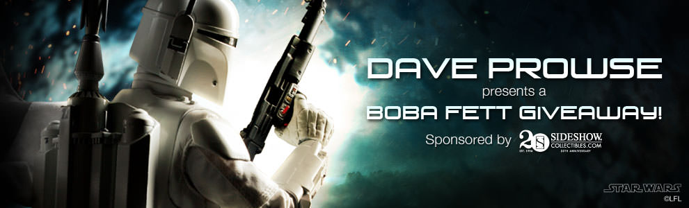 Dave Prowse Boba Fett Giveaway