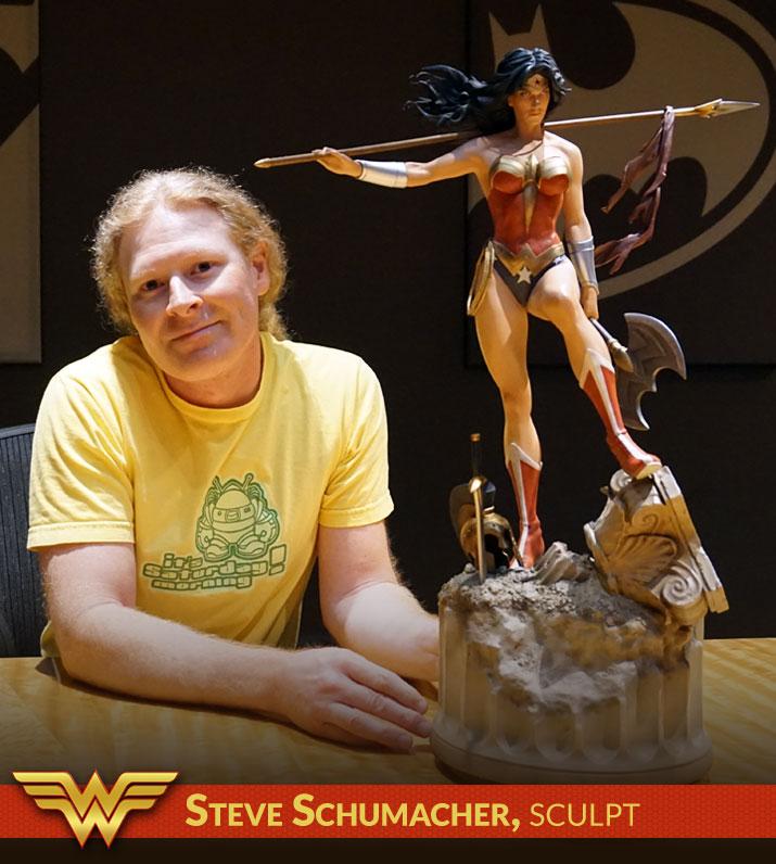 Steve Schumacher, Sculpt