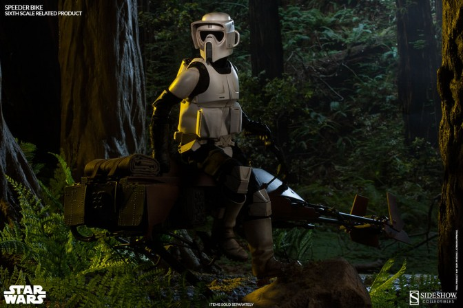 Rally the Ewoks! Star Wars Speeder Bike and Scout Troopers are arriving soon!