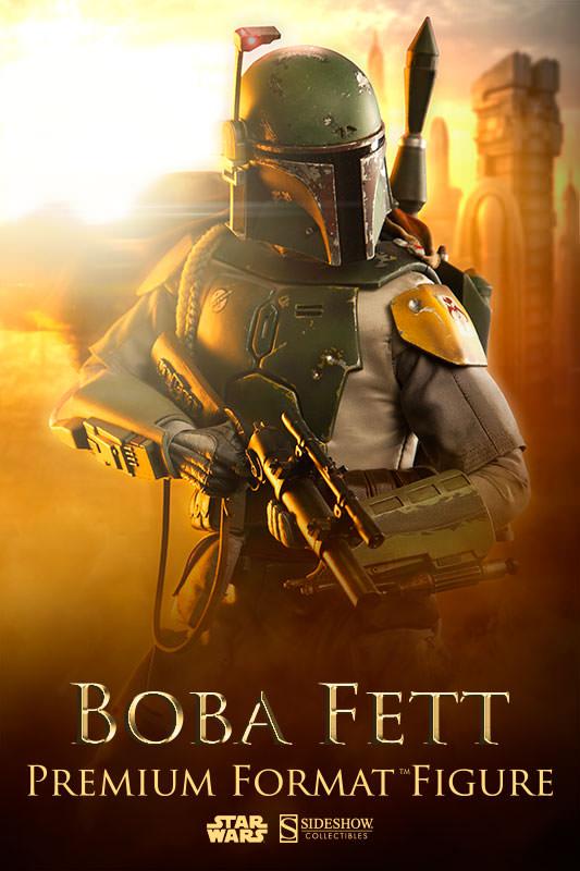Star Wars Boba Fett Premium Format™ Figure Coming Soon