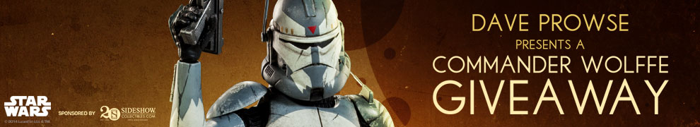 Dave Prowse Wolffe Giveaway