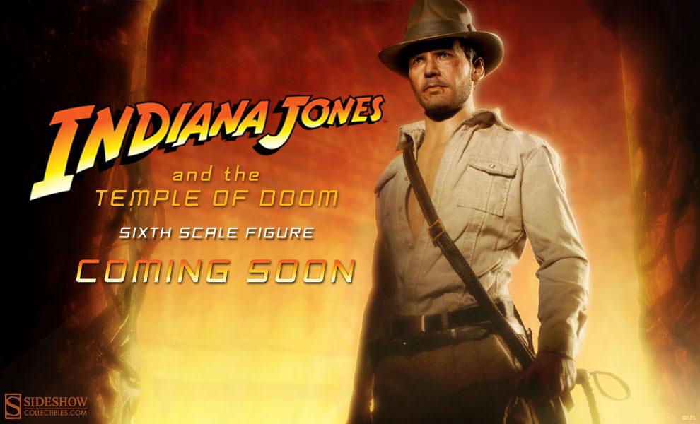754aa2ffec1bd Indiana Jones Temple of Doom Sixth Scale Figure | Sideshow Collectibles