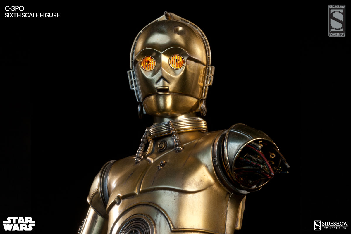 Exclusive C-3PO Sixth Scale Figure