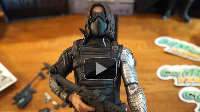 Comic Vine gets 'Hands On' with Hot Toys' Captain America: Winter Soldier Figure