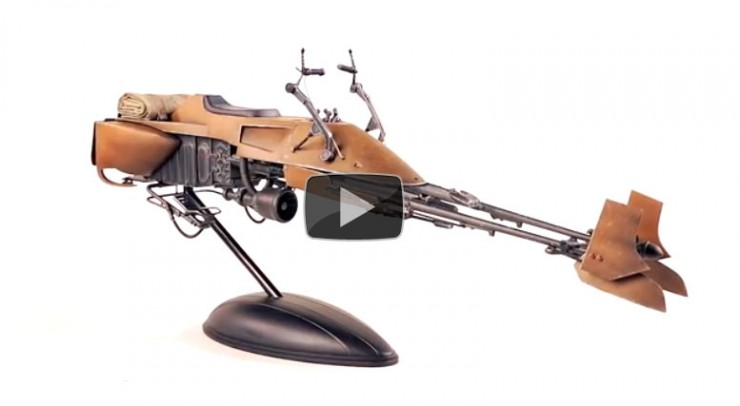 Star Wars Speeder Bike – not just a machine, but an experience