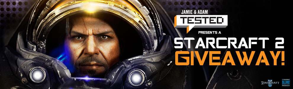 Tested Starcraft II Giveaway