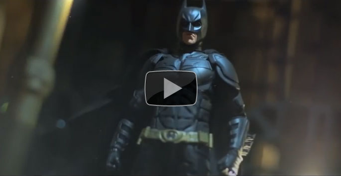 You have to see this Hot Toys Batman: Dark Knightfall Stop Motion Animation