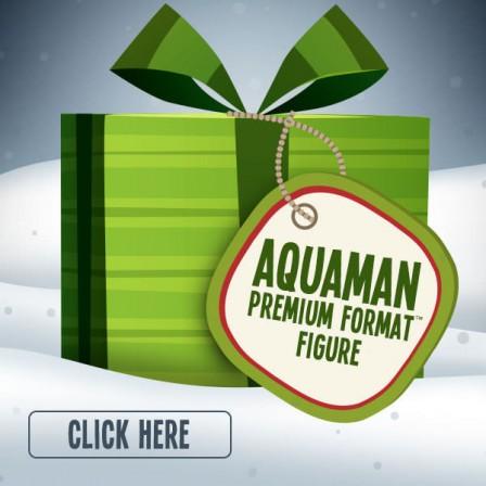 Aquaman Premium Format Figure announcement