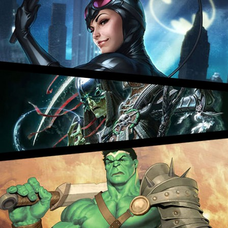 New Catwoman, Hulk, and Court of the Dead Premium Art Prints coming soon