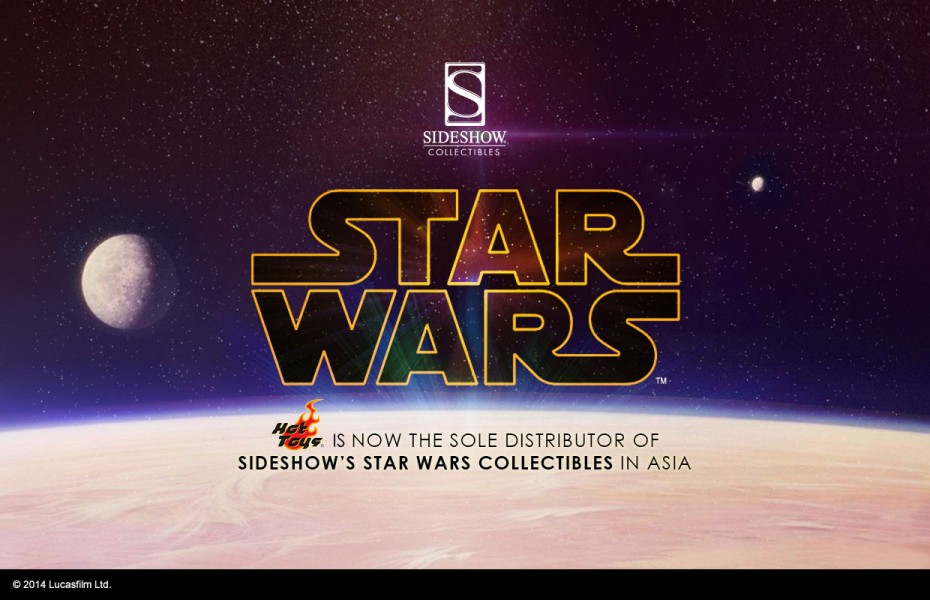 Sideshow welcomes Hot Toys as our sole distributor of Star