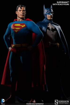 Superman and Batman Sixth Scale Figures (Each Sold Separately)