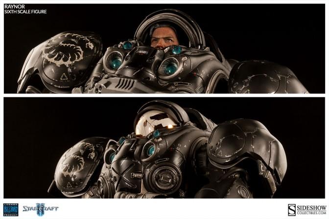 Raynor Terran Space Marine Sixth Scale Figure
