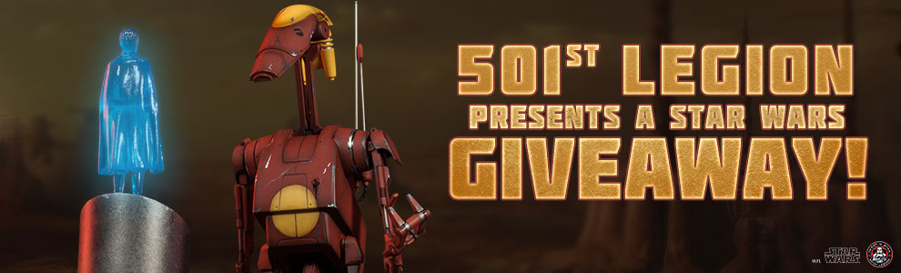 501st Droid Giveaway
