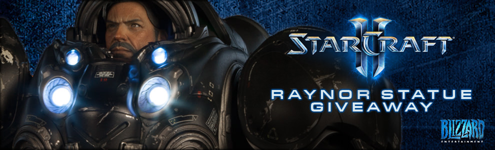 Blizzard Raynor Giveaway