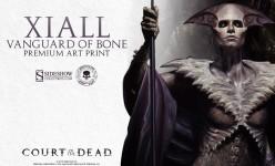 Xiall: Vanguard of Bone Premium Art Print