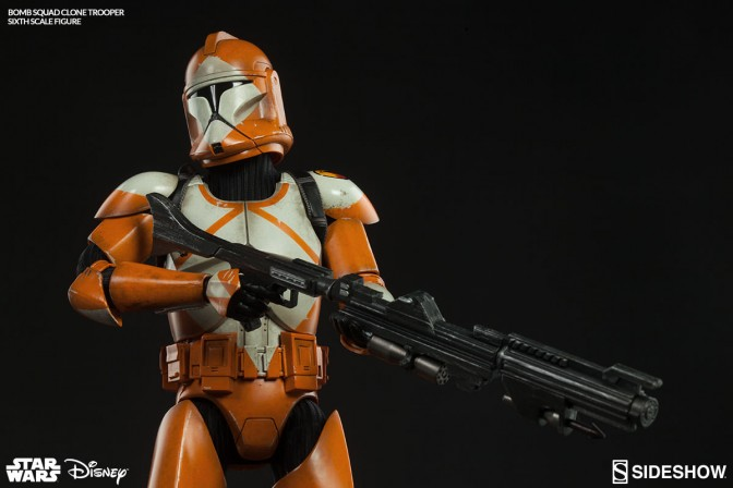 Sideshow Collectibles Star Wars Bomb Squad Clone Trooper Ordnance Specialist Sixth Scale Figure