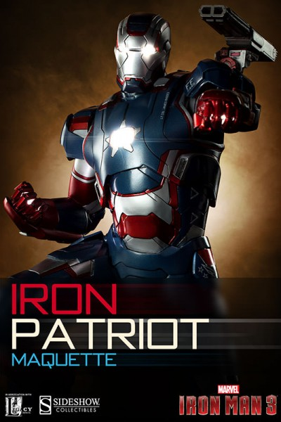 Iron Patriot Maquette Final Production Photos