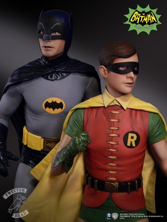 Exclusive Sneak Peek at Tweeterhead's Dynamic Duo – Robin Boy Wonder Statue