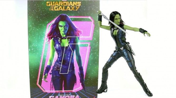 Hot Toys Guardians of the Galaxy Gamora Sixth Scale Figure Video Showcase
