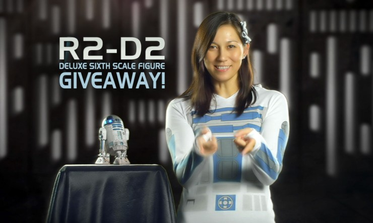 Sideshow R2-D2 Giveaway –Here's your chance to win the droid you're looking for!