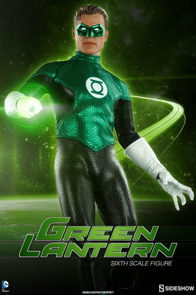 In brightest day, in blackest night – Green Lantern Sixth Scale Figure coming soon!