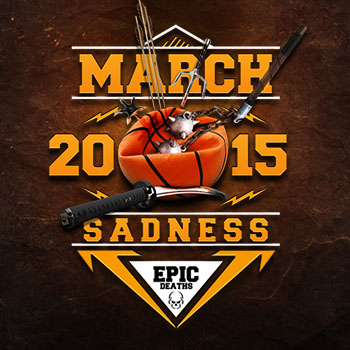 March Sadness – You decide the most epic deaths in film!
