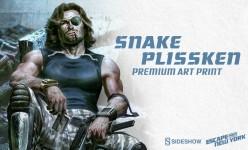 Snake Plissken Premium Art Print