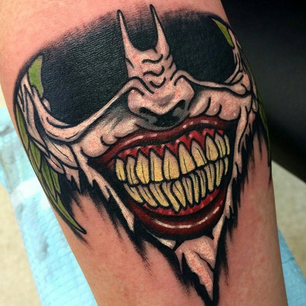 If you thought the Joker\'s tattoos were insane, check out these 10 ...