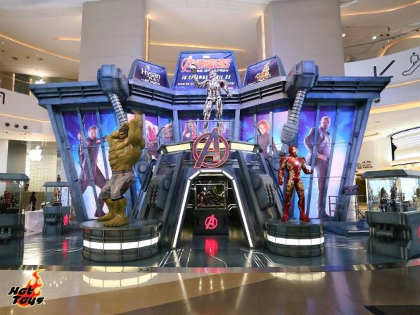 Hot Toys assemble a 'groundbreaking' life-size Avengers exhibit in Hong Kong