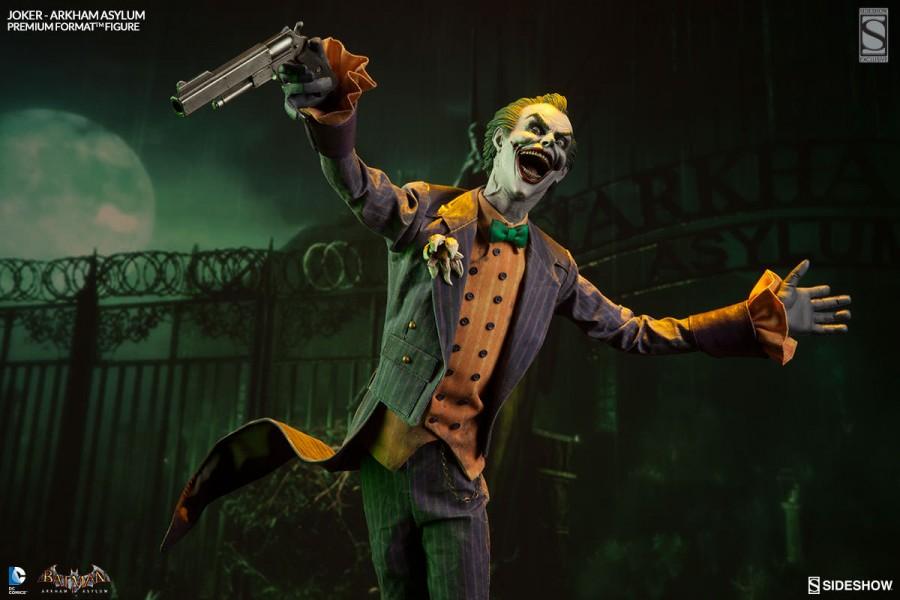 The Joker Arkham Asylum Premium Format Figure Sideshow Exclusive Edition